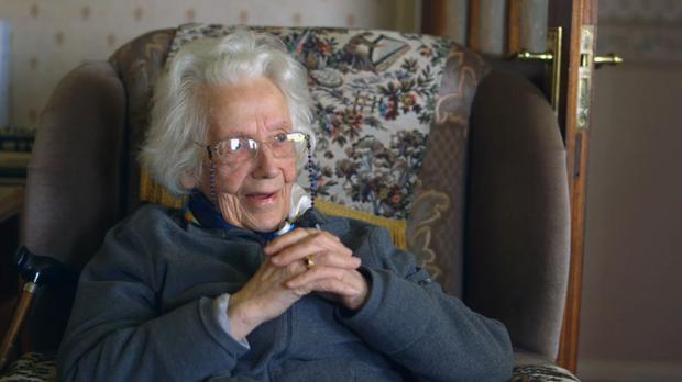 Life-saver: Maureen Sweeney, at just 21, prevented the loss of thousands of soldiers' lives on the beaches of Normandy