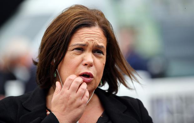 Poor election result: Sinn Féin leader Mary Lou McDonald. Picture: Gerry Mooney