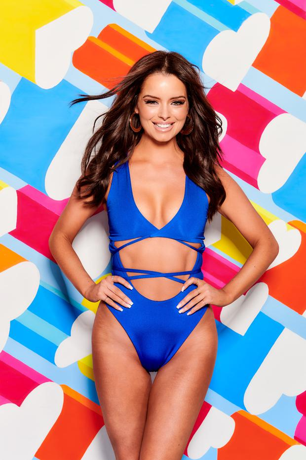 Game changer: Maura Higgins has lit up 'Love Island' since her arrival, alongside Dubliner scientist Yewande Biala