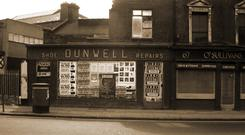 LOST SOLES: Dunwell's shoe repair shop on Parnell Street