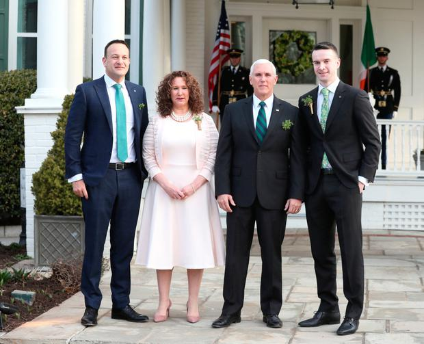 Trip: Vice-President Mike Pence may arrive in September. Picture: PA