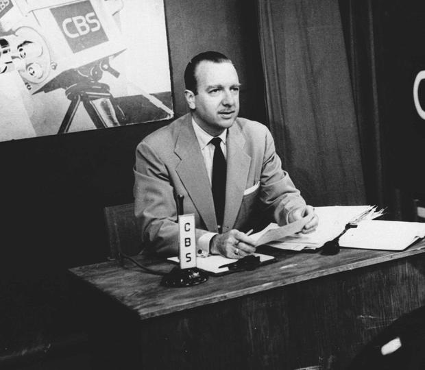 'What do you do?' US broadcasting legend Walter Cronkite