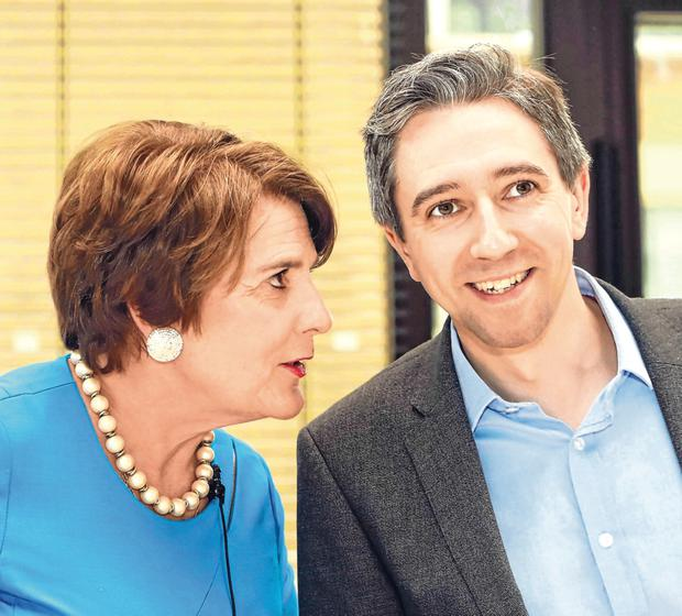 Health talks: Minister Simon Harris and Health Department chief nursing officer Siobhan O'Halloran at the launch of a new policy document aimed at developing advanced nursing and midwifery practices yesterday. Photo: Leah Farrell
