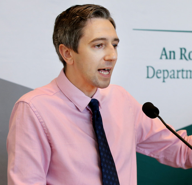'Health Minister Simon Harris pointed out himself yesterday how the new health-led approach could draw in 12,000 people a year who come to the attention of gardaí for drug possession for personal use.' Photo: Steve Humphreys