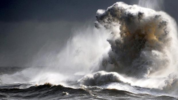 Atiyah will be the first storm to blow in across the UK and Ireland this winter, according to the new list of names for this year's strongest weather systems. Stock picture