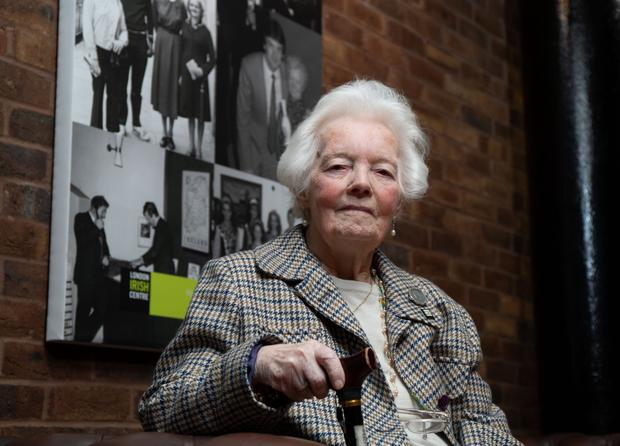 Mary Allen at the London Irish Centre, Camden. Photo by Andrew Fosker / Seconds Left Images