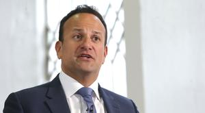 Not expecting a miracle: Leo Varadkar does not have high hopes for talks with Boris Johnson. Picture: Damien Eagers