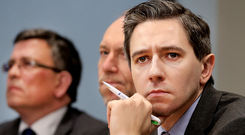 Testing times: Health Minister Simon Harris faces a number of challenges. Photo: Steve Humphreys