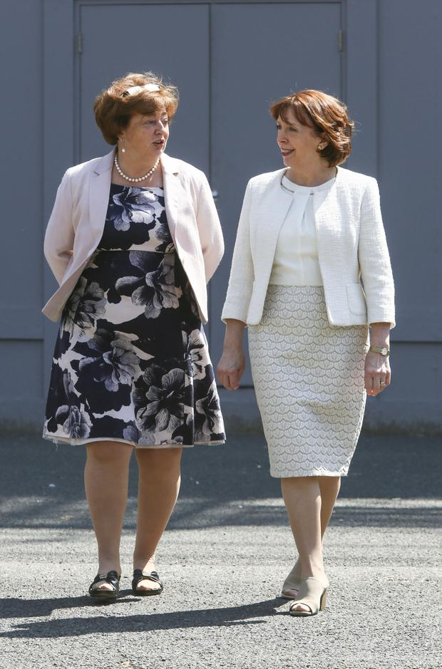 Making little impact: Social Democrats co-leaders Catherine Murphy and Róisín Shortall. Photo: COLIN O RIORDAN