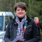 DUP leader Arlene Foster. Picture: Reuters