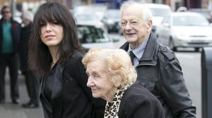 Imelda May with her parents Tony and Madge Clabby in 2017