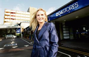 Gayle Killilea pictured at the D4Stores in Jurys Hotel Ballsbridge.  Picture; GERRY MOONEY.  28/8/09