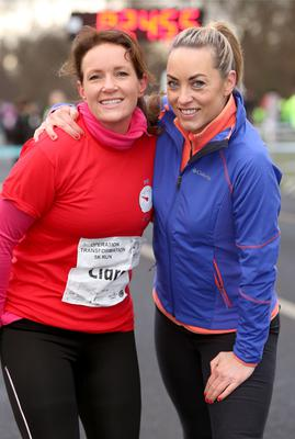 Dr Ciara Kelly and Kathryn Thomas
