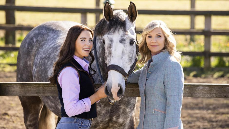 Yvonne Connolly and daughter Ali (15) as they launch the Dove Self-Esteem project in Ireland