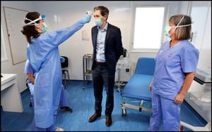 Promise: Former health minister Simon Harris said money was no object when it came to Be on Call for Ireland. Photo by Steve Humphreys