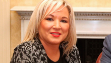 Former health minister: Sinn Féin vice president Michelle O'Neill. Picture: PA