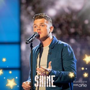 Conor McLoughlin (20) singing on BBC's Let It Shine Photo: Facebook BBC