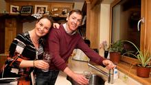 Donal and Bernie Ward at home in Craughwell Co Galway  where they have a treatment system for their water. Pic: Andrew Downes.