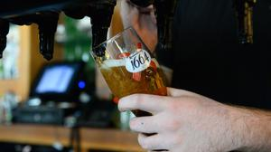 """""""If there is a change in the situation between now and then it won't just effect the pubs, it will affect all businesses."""" Stock photo: Kirsty O'Connor/PA"""