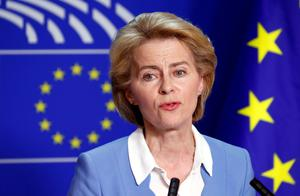Challenges:  EU President Ursula von der Leyen has faced a tough first 100 days in the job. Picture: Reuters