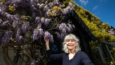 Susan O'Brien, whose house will be used during filming of Disney's Disenchanted in Enniskerry. Photo: Mark Condren