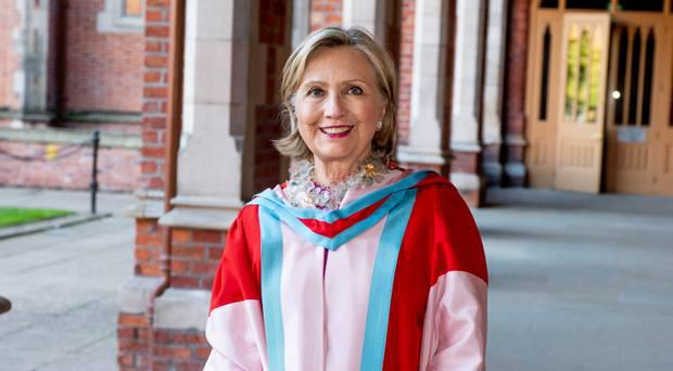 Hillary Clinton appointed chancellor at Queen's University Belfast