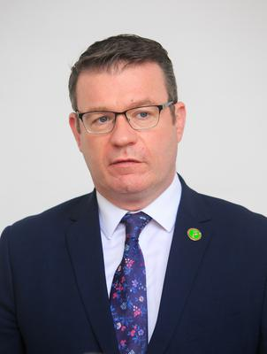 Labour Party leader Alan Kelly has called for an 'aggressive strategy'. Photo: Gareth Chaney/Collins