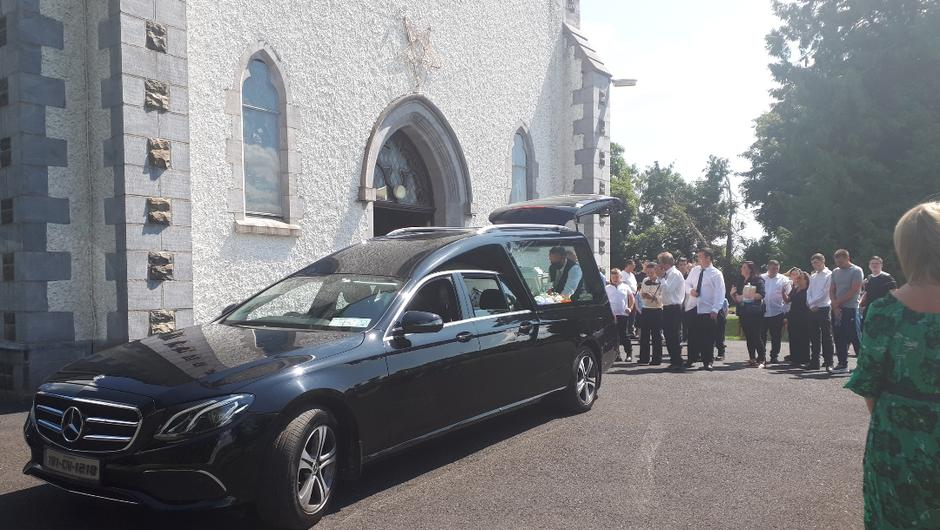 The funeral of young mother Natasha Core was held today