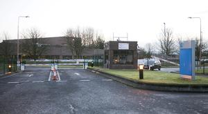 The Pfizer Plant in Newbridge where an announcement is expected on jobs losses this morning
