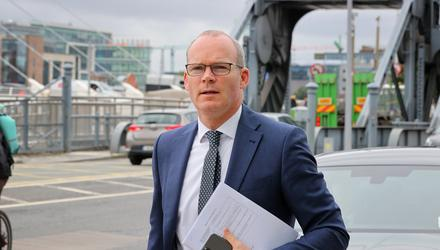 Foreign Affairs Minister Simon Coveney objected to the inclusion of countries with large Irish emigrant populations. Photo: Frank McGrath