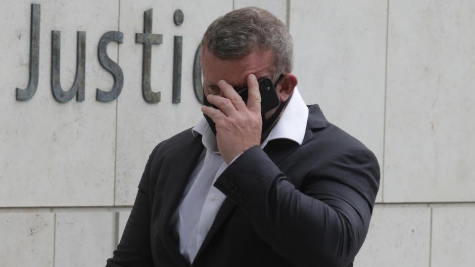 Jason Reed pictured at the Criminal Courts of Justice. Photo: Collins Courts