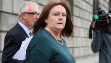 Deirdre Kelly leaving the Four Courts in Dublin yesterday