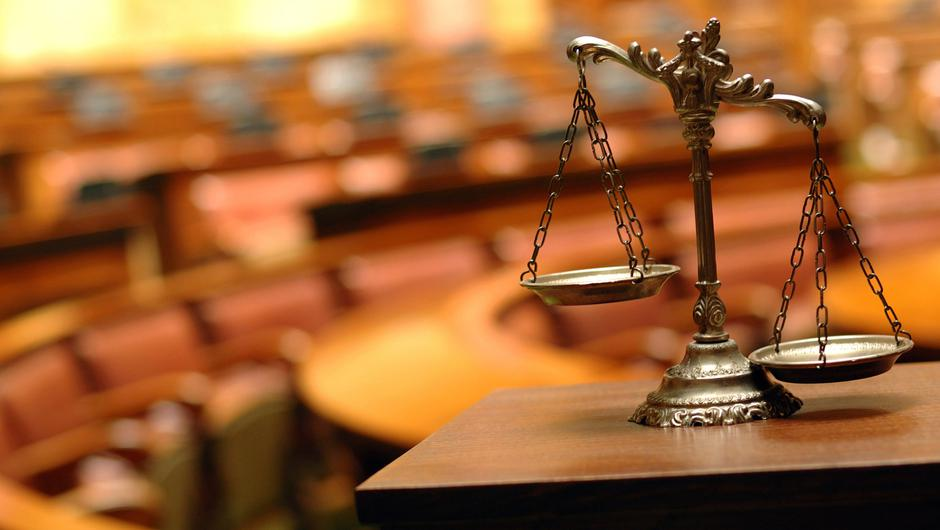 Courtroom: Stock image