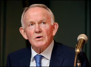 Former INM chairman Leslie Buckley. Picture: Steve Humphreys