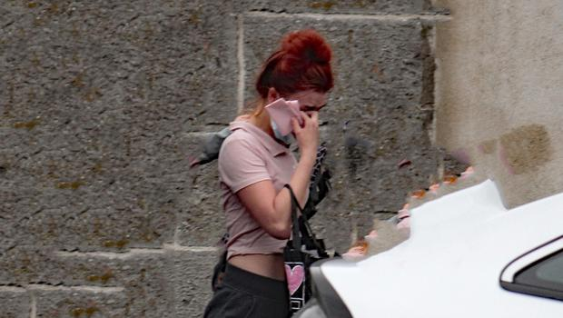 Courtney Murphy (18), with an address at New Road Thomondgate, outside Limerick District Court today. Photo: Brendan Gleeson