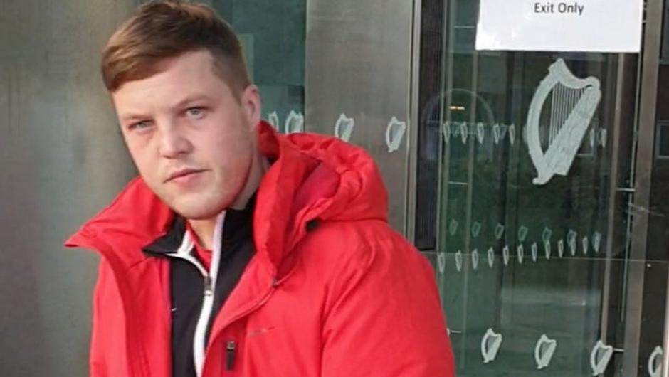 Karl Fitzsimons pleaded guilty to abusive and insulting behaviour