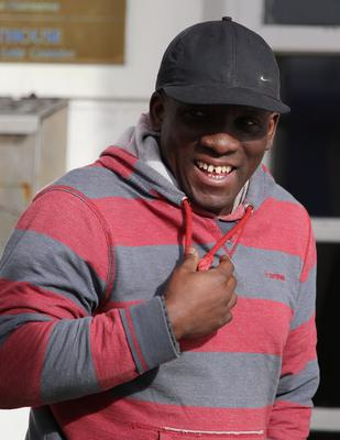 Prince Asamoah who was convicted of assault at Letterkenny District Court.  (NWNewspix)