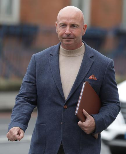 Philip Marley, with an address at Rathbourne                   Court, Ashtown, Dublin, pictured leaving the Criminal                   Courts of Justice in Dublin. Photo: Paddy                   Cummins/IrishPhotodesk.ie