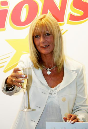 A daughter of Euromillions winner Dolores McNamara appeared in court today