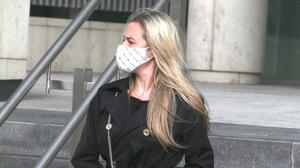 Gemma Greene at Dublin District Court yesterday. Photo: Collins Courts