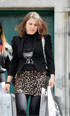 Patricia De Silva girlfriend of the dead man pictured on her way out of Tralee Court in Tralee Co Kerry today 22/5/13  Photo By : Domnick Walsh / Eye Focus LTD ©   Tralee Co Kerry Ireland   Phone  Mobile 087 / 2672033  L/Line 066 71 22 981   E/mail - info@dwalshphoto.ie         www.dwalshphoto.com  STORY – Two men have been found guilty of murdering a Brazilian man and dumping his body in a north Kerry bog.The body of Bruno Lemes De Sousa was discovered in Shronowen Bog outside Listowel on March 11th 2012.20 year old John-Paul Cawley, and 29 year old Wenio Rodriguez Da Silva, both with an address at 2 Ardoughter, Ballyduff, were accused of murdering 28 year old Bruno Lemes De Sousa, between February 16th and 17th last year.Both men pleaded NOT guilty to the charge of murder; however John-Paul Cawley pleaded guilty to manslaughter; they have both been found guilty of murder.It took the jury just over an hour and a half to return unanimous verdicts on both counts, finding Wenio Rodriguez Da Silva and John-Paul Cawley guilty of murdering Bruno Lemes De Sousa.The 28 year old's body was  found by Gardai following a planned search on the 11th of March last year at a bog at Tullamore, Listowel.Bruno's hands were bound; he was lying face up in a pool of water and had been stabbed 64 times.The court heard that both Wenio and John-Paul had beaten Bruno around the head with a wheelbrace at their home at Ardoughter Ballyduff, before driving him to the bog where they stabbed Bruno to death.Both men had denied the murder charges, but John-Paul Cawley pleaded guilty manslaughter.However the jury at the Kerry sitting of the Central Criminal Court convicted both men of murder.Judge Garrett Sheehan imposed the mandatory life sentences on both men.