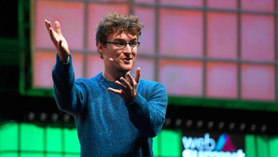 Network: Web Summit founder Paddy Cosgrave at the Lisbon event in 2018