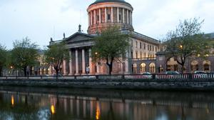 The Four Courts building in Dublin