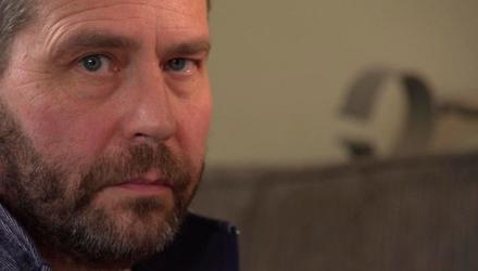 Kevin Lunney had bleach poured on knife wounds. Photo: BBC Spotlight.