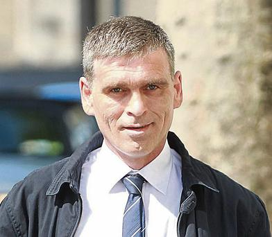 The accused Colm Deely at the Central Criminal Court