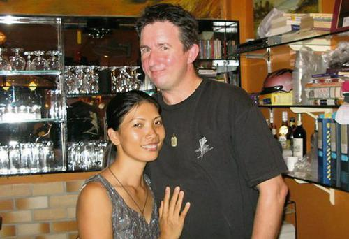 Eugene Moloney and girlfriend Chichi Tran