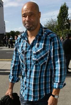 Paul McGrath was arrested in Tullamore, Co Offaly, at the weekend