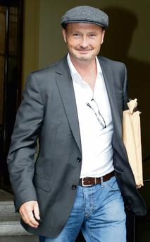 Jim Corr outside court yesterday