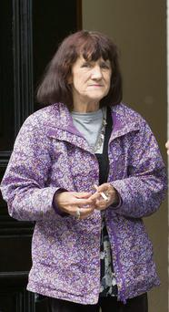 Ann Shaughnessy at Galway Court House, where she was disqualified from driving