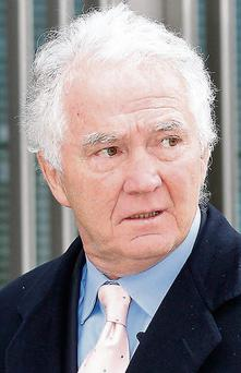 Former Anglo Irish Bank Chairman and Chief Executive, Sean Fitzpatrick